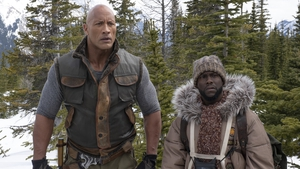 Together again - Dwayne Johnson and Kevin Hart in Jumanji: The Next Level