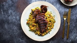 Donal's Spiced Duck with Figs & Ruby Spiced Rice