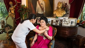 Imelda Marcos - in Lauren Greenfield's film, she is 86, and engineering a return to power for the Marcos dynasty
