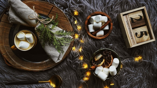 Add a little something special to your dining table decor this year