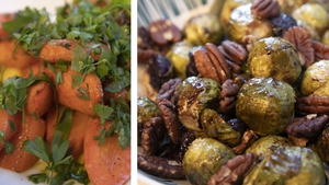 Lilly Higgins' Brussels Sprouts & glazed carrots: Today