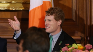 Joe Kennedy, who is a grandson of Robert Kennedy, said he will be watching closely as Brexit proceeds