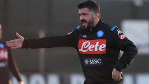 "Gennaro Gattuso has replaced Carlo Ancelotti, the man he has described ""like a father"""