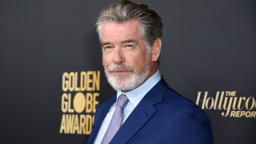 Pierce Brosnan is godfather to Jay Benedict's two sons, Leo and Freddie