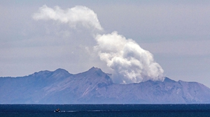 Volcano on White Island erupted on 9 December last year