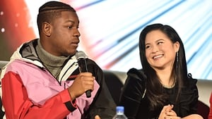 John Boyega and Kelly Marie Tran