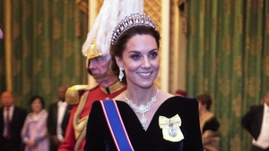 This marks the Duchess's 10th time wearing the tiara. Photo: Getty
