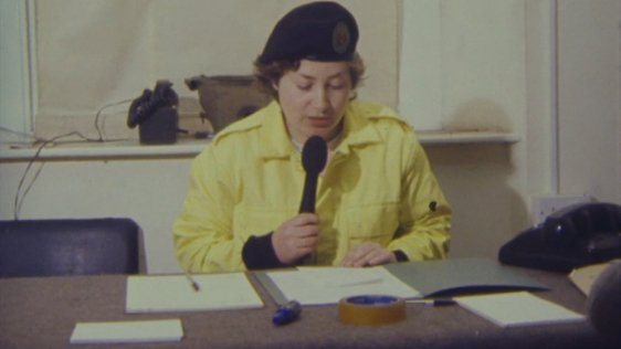 Civil Defence broadcast.