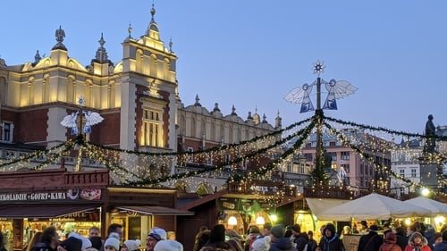 With its bustling Christmas market and sightseeing galore, Krakow makes the perfect festive getaway, says Jonjo Maudsley.