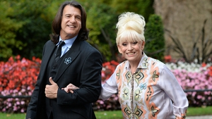 Scott Mitchell and Barbara Windsor