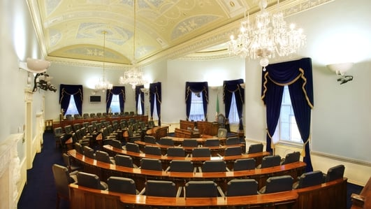 Can the 'caretaker' government get legislation through the Oireachtas?