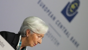 Christine Lagarde vowed at her first press conference as ECB chief that she would keep to her 'own style' and says her ambition is to be a 'wise owl'