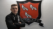 Darragh Leahy has moved to Oriel Park