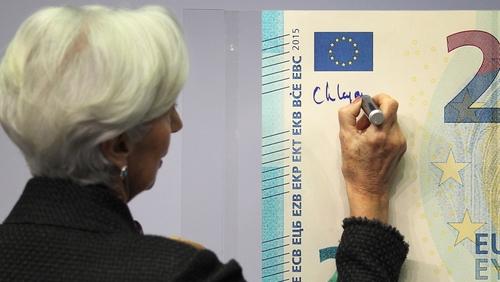 European Central Bank chief Christine Lagarde