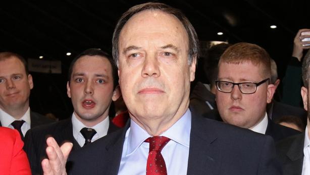 Nigel Dodds defeat