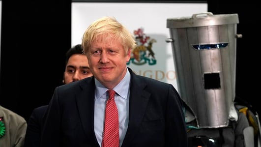 Johnson jubilant as Conservatives win majority