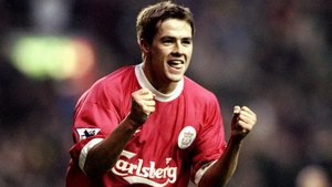 A fresh-faced Michael Owen in action for Liverpool against Coventry City in December, 1999