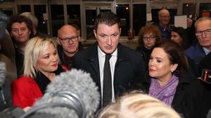 Sinn Féin's John Finucane took the Belfast North seat of DUP deputy leader Nigel Dodds