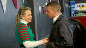 Erica and Doug give in to passion on Fair City