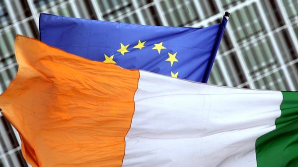 Ireland's average net contribution from 2018-2020 stood at €377 million
