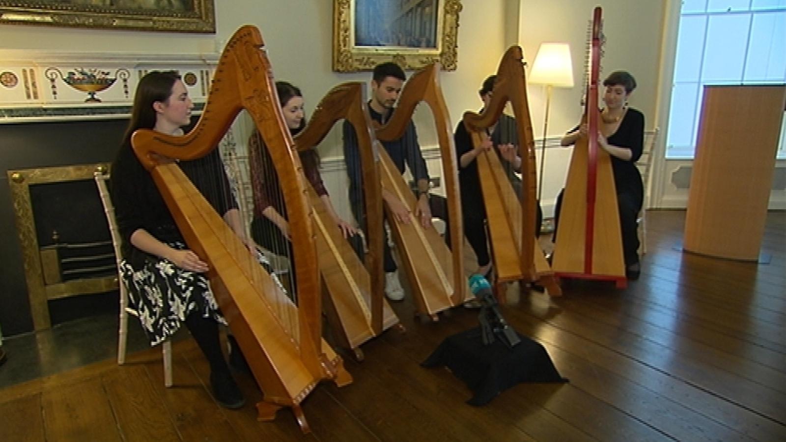 UNESCO Recognises Cultural Importance of Irish Harp