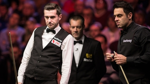 Selby and O'Sullivan exchanged words during the final