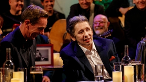 Ryan Tubridy and Shane MacGowan share a laugh - Watch the show in full on the RTÉ Player Photos: Andres Poveda
