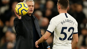 Jose Mourinho will not call on  Troy Parrott