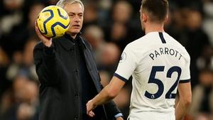 Troy Parrott has made one Premier League appearance