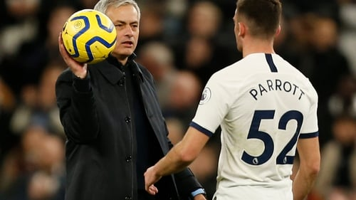 'Parrott is a 17-year-old boy that played five minutes in the Premier League and we'll give him more time'
