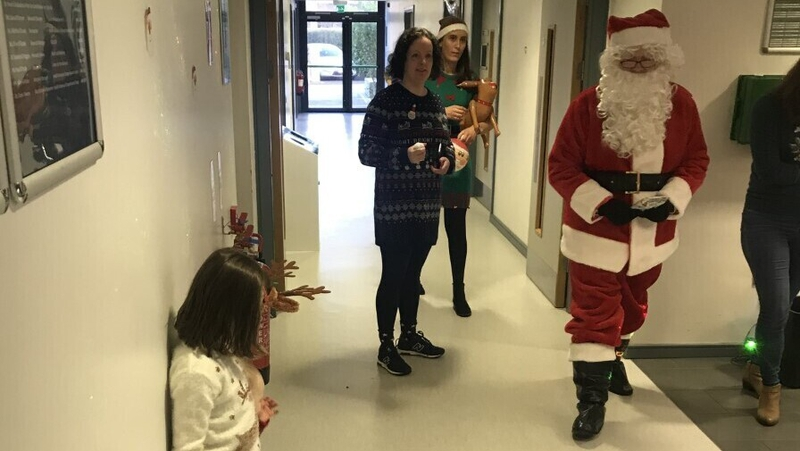Extra Christmas magic with sensory Santa
