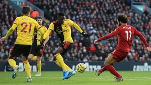 Salah scores Liverpool's opener