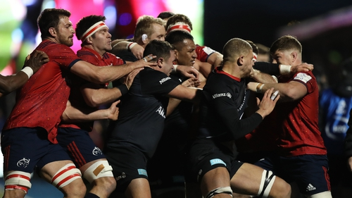 Clash Boils Over As Munster Fall To Frustrating Loss Away To Saracens