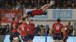 Munster are second in the pool