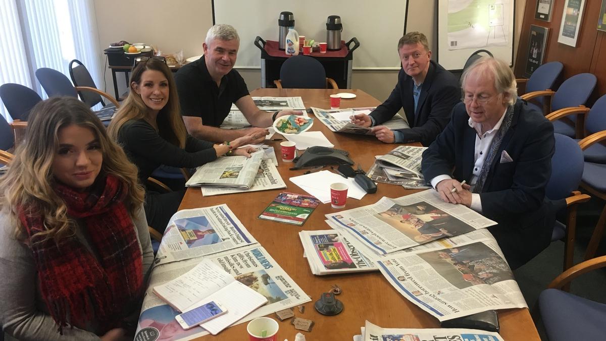 Sundays Newspaper Panel