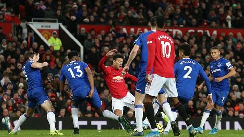 Mason Greenwood equalises for Manchester United