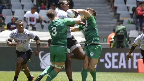 Ireland lost out to Fiji
