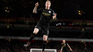 Kevin de Bruyne was in superb form