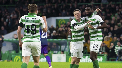 Celtic beat Rangers 1-0 in the League Cup final