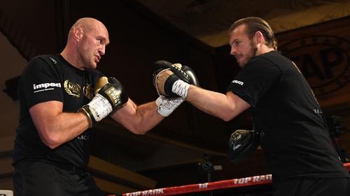 Tyson Fury and now former trainer Ben Davison