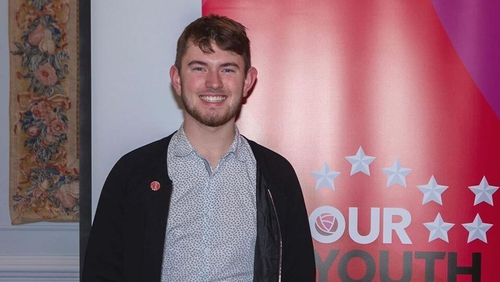 Tributes have been paid to Cormac  Ó Braonáin who had recently been elected as Chair of Labour Youth