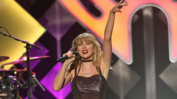 Taylor Swift says she is ecstatic