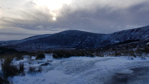 Gardaí have advised people to stay away from the area (image: Glen of Imaal Mt Rescue)