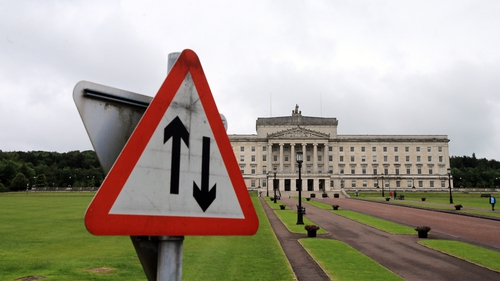 The devolved administration collapsed three years ago