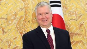 US Special Representative for North Korea Stephen Biegun on visit to South Korean capital Seoul