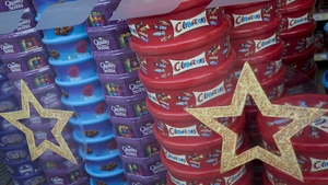 Consumers have spent €1.8m less on tubs and tins of chocolate this year compared to the same time last year