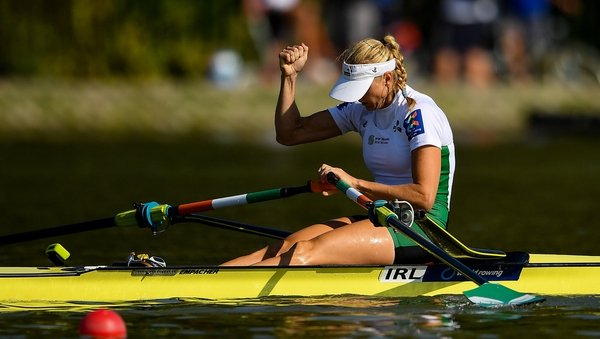 Sanita Puspure is defending the single scull women's title she won at last year's championships in Lucerne
