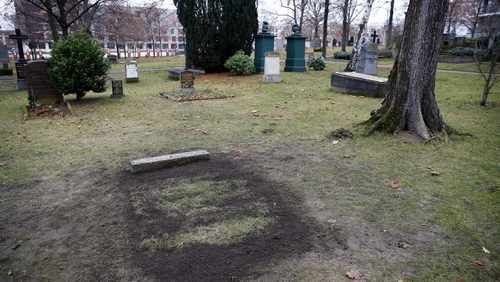 Holocaust architect's grave dug up in Berlin