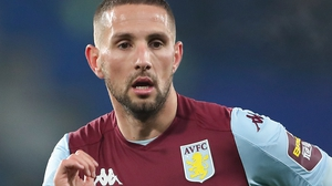 Conor Hourihane missed Aston Villa's loss at Sheffield United