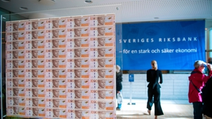 Sweden's Riksbank has decided to raise its repo rate from 0.25% to 0%